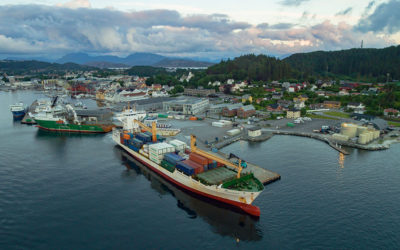 Florø hamn bidreg til dugnaden ved å kutte varevederlaget