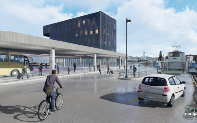 Kollektivterminal og kontorbygg på Fugleskjærkaia utlysning