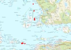 Grunnundersøkingar i hovudlei mellom Florø og Stad