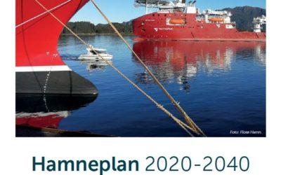 Kommunestyret 17 desember 2020: Sak 184/20 Hamneplan for Florø